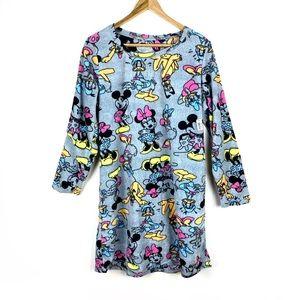 NWT Disney Nightgown Fleece Mickey Size L Soft